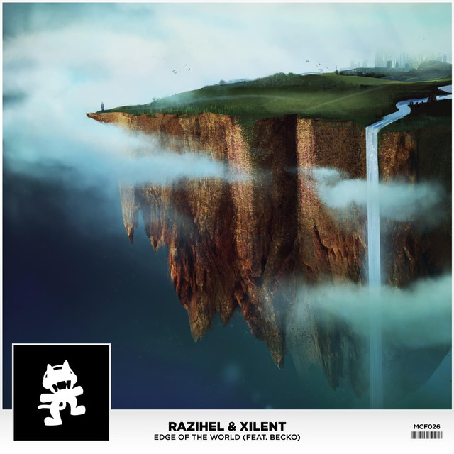 Xilent, Razihel Edge of the World (feat. Becko) album cover