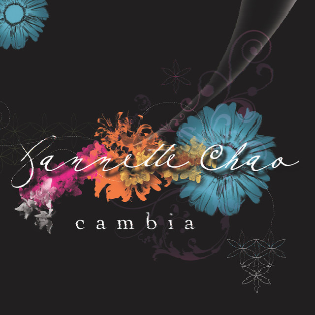 Album cover for Cambia by Jannette Chao