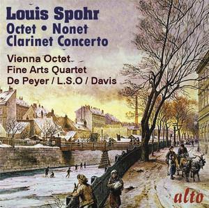 Spohr: Octet; Clarinet Concerto No. 1; Nonet Albumcover