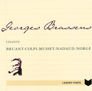 Brassens chante Bruant, Colpi, Musset, Nadaud, Norge album