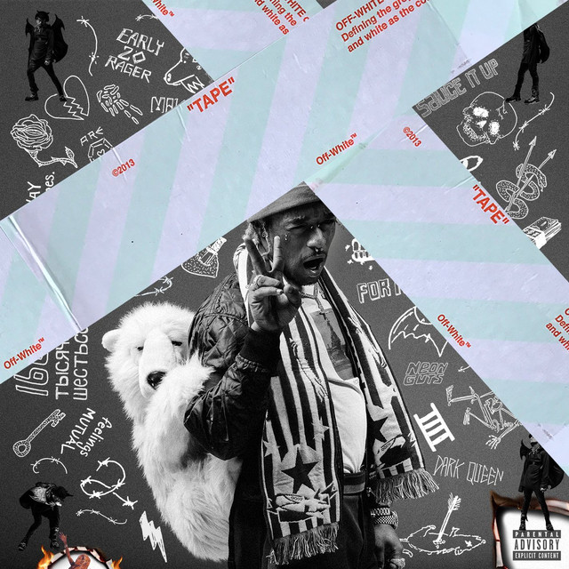 Album cover for Luv Is Rage 2 by Lil Uzi Vert