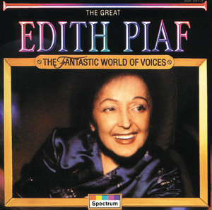 The Great Edith Piaf Albumcover