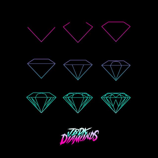 Album cover for Diamonds by Jbdk, Jbre, Dougie Kent