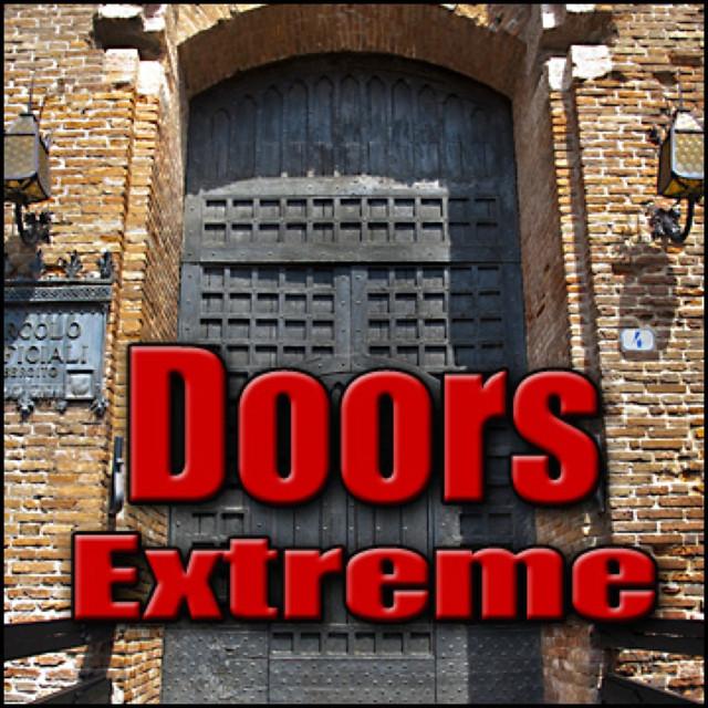 Door, Wood - Old Castle Dungeon Door with Metal Latch: Unlatch and ...