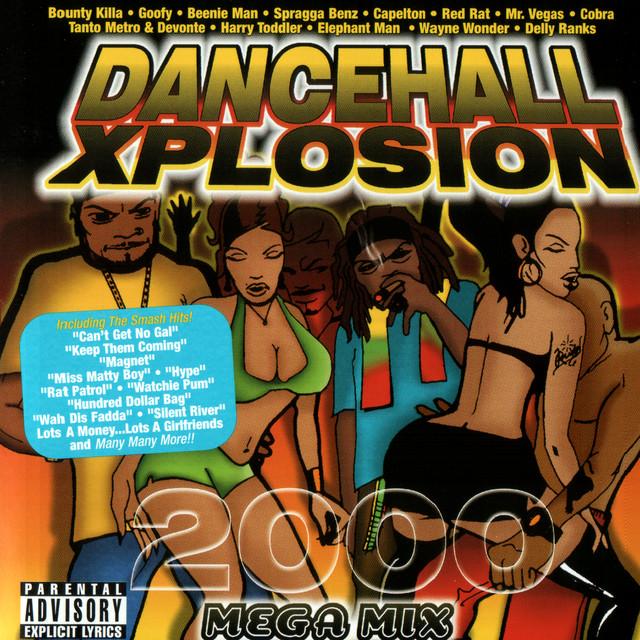 Various Artists Dancehall Xplosion 2000 album cover