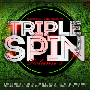 Triple Spin, Vol. 3 Albumcover
