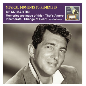 Musical Moments to Remember: Dean Martin Albumcover