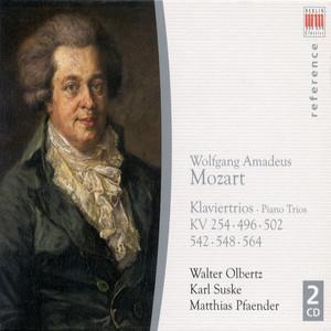 Wolfgang Amadeus Mozart: Piano Trios Nos. 1, 3, 4, 5, 6 / Divertimento in B-Flat Major, K. 254 (Suske, Pfaender, Olbertz) Albümü
