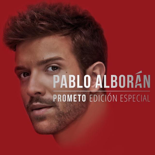 Album cover for Prometo (Edición especial) by Pablo Alborán