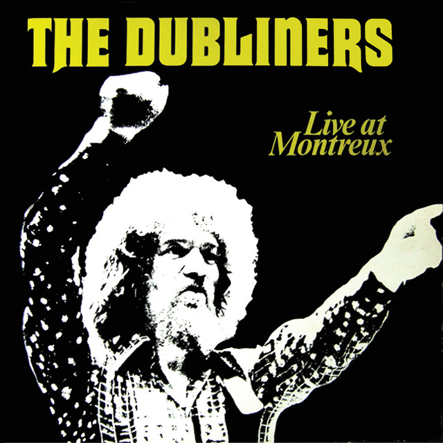 The Dubliners Live at Montreux album cover
