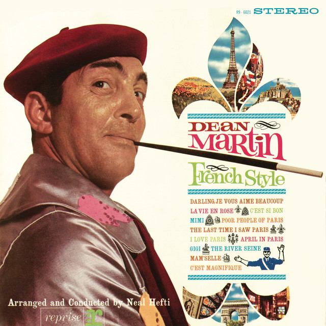 Dean Martin French Style album cover