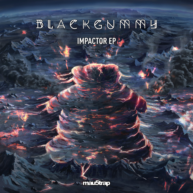 Album cover for Impactor EP by BlackGummy