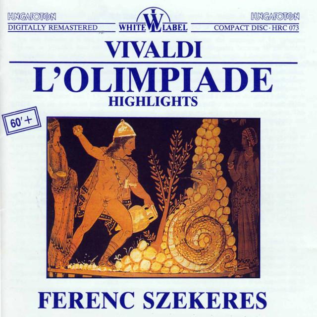 Vivaldi: L'Olimpiade (Highlights) Albumcover