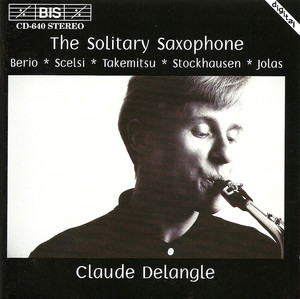 Solitary saxophone (The) | Delangle, Claude (1957-....). Bf