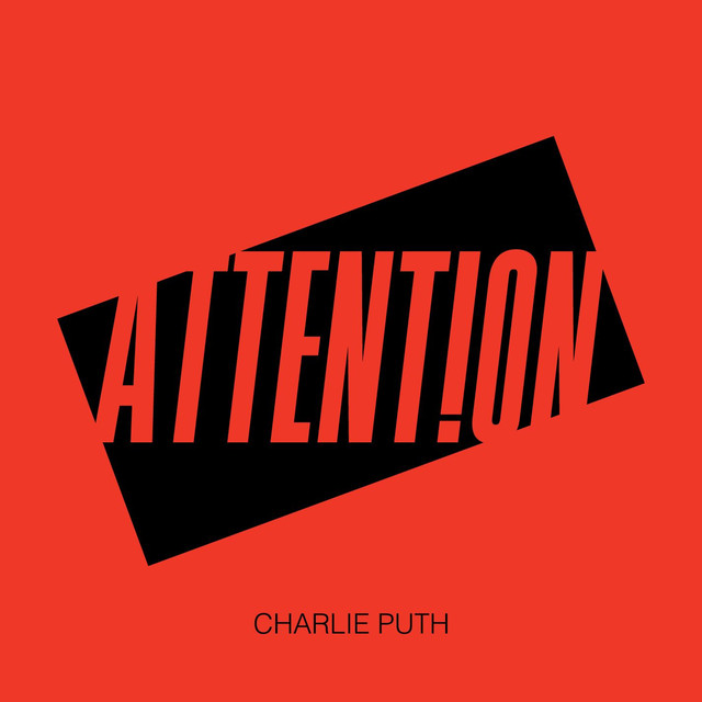 Charlie Puth Attention Album Cover