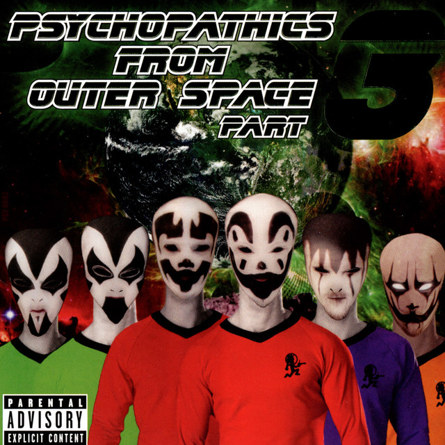 Psychopathics from Outer Space 3 album cover
