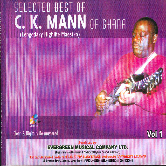Ahobrase, a song by C K Mann (Legendary Highlife Maestro) on Spotify