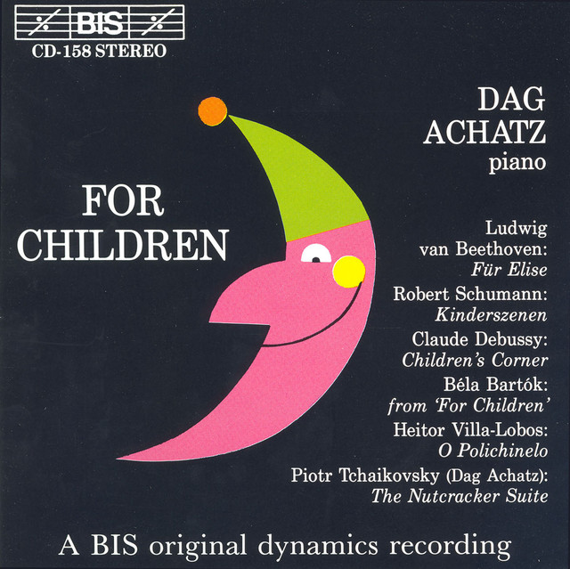 Schumann / Debussy / Tchaikovsky: Piano Music for Children Albumcover