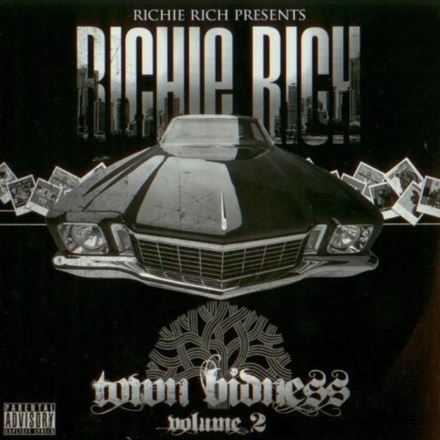 Richie Rich Town Bidness Volume 2 album cover