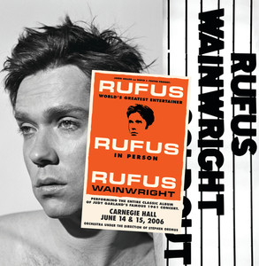 Rufus Wainwright, Martha Wainwright Stormy Weather - Live At Carnegie Hall cover