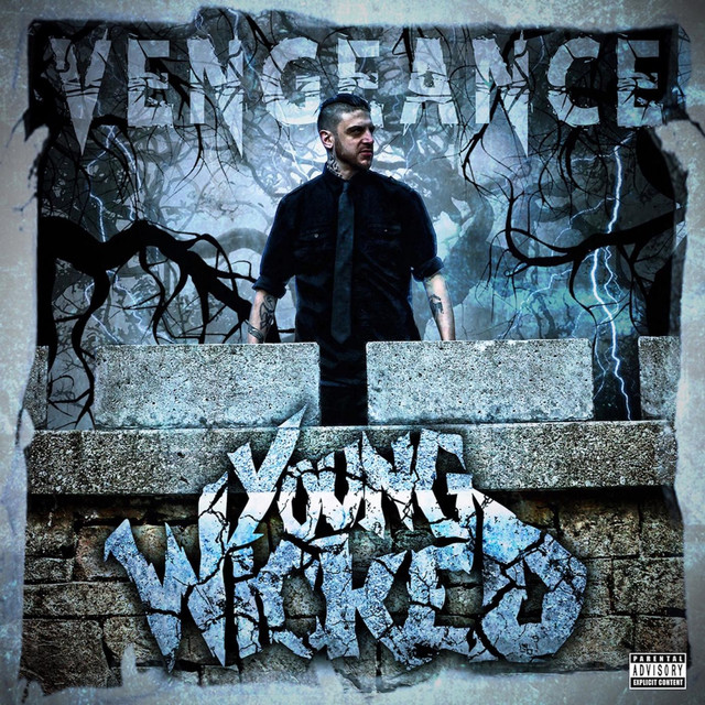 Album cover for Vengeance by Young Wicked