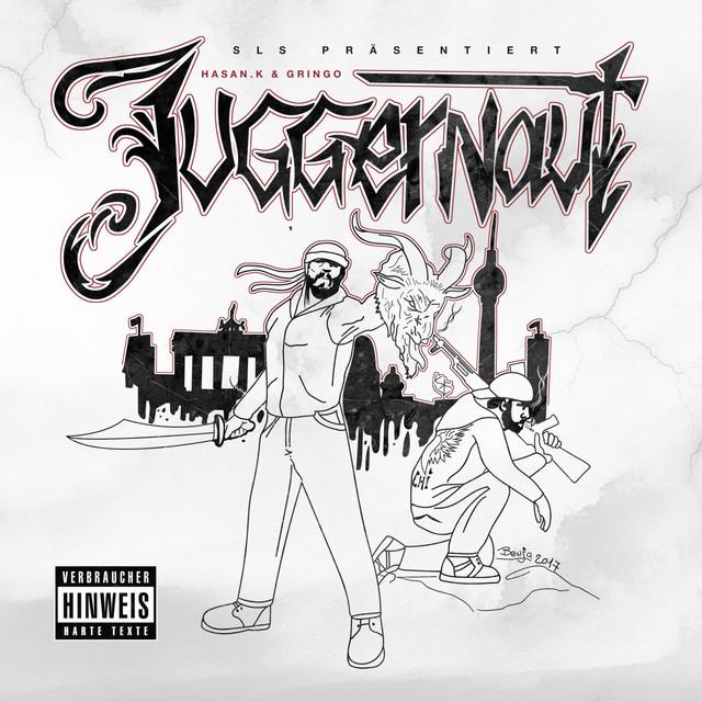 Album cover for Juggernaut by Hasan K. & Gringo