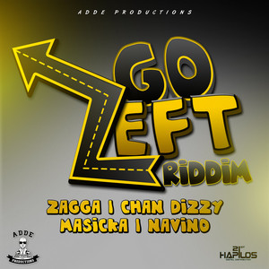 Go Left Riddim Albumcover