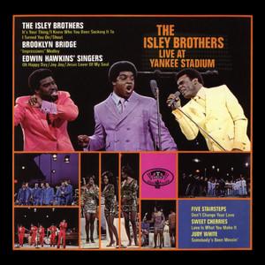 The Isley Brothers Live at Yankee Stadium album