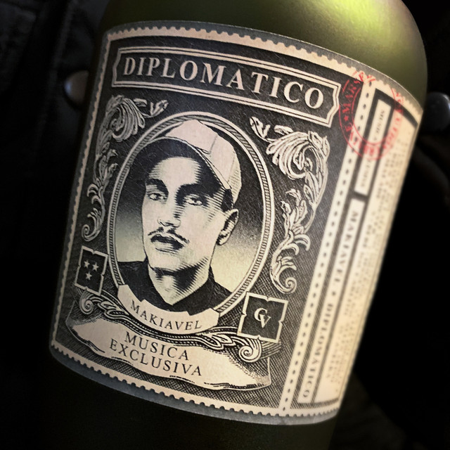 Album cover for Diplomatico by Makiavel