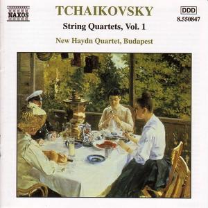 Tchaikovsky: String Quartets, Vol. 1 Albumcover