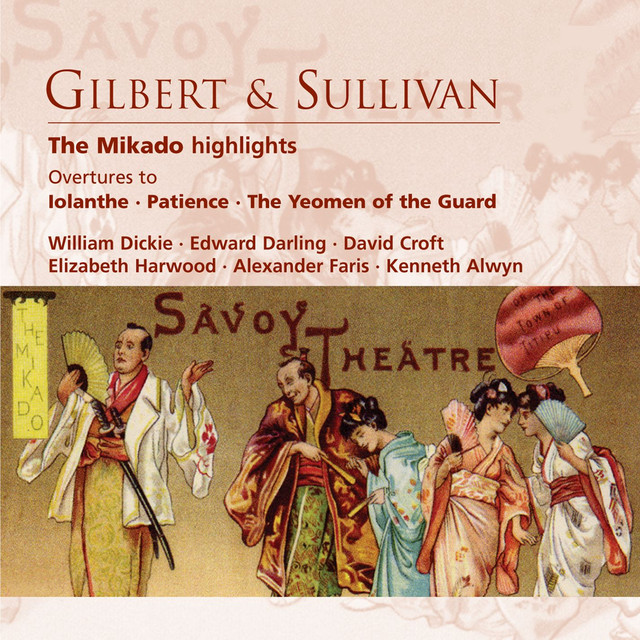Sullivan: The Mikado or The Town of Titipu, Act 2: No  22