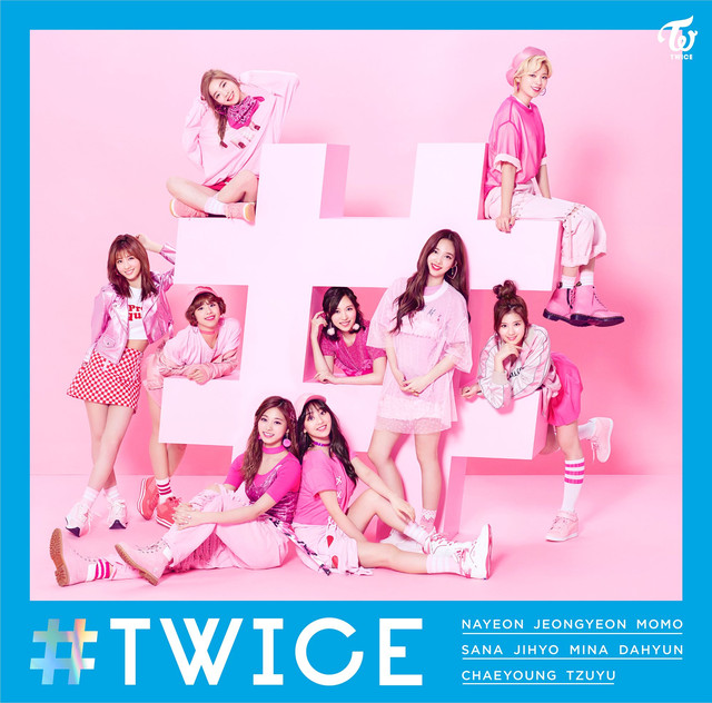 Album cover for #TWICE by TWICE