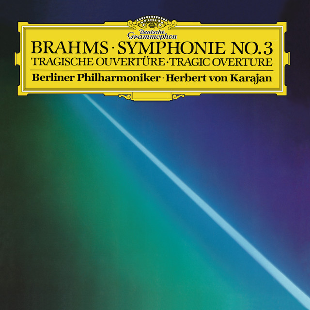 Brahms: Symphony No.3 In F, Op.90; Tragic Overture, Op.81 Albumcover