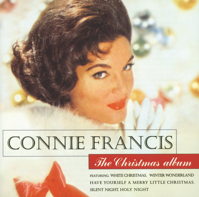 Connie Francis The Christmas Album album cover