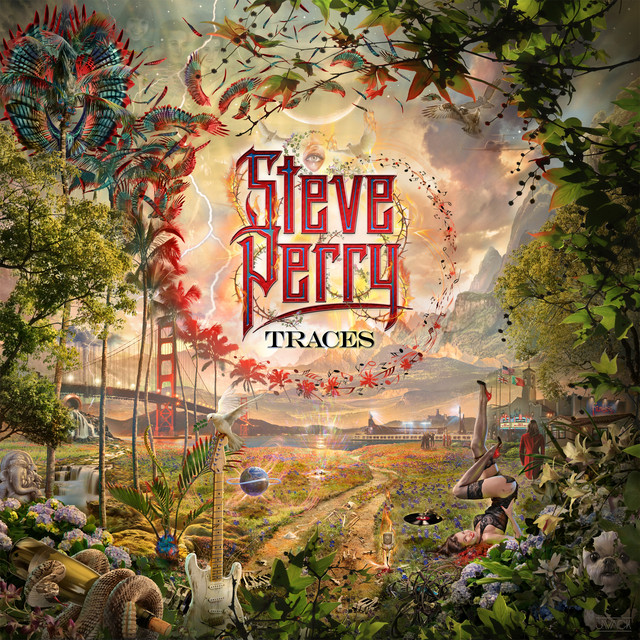 Album cover for Traces by Steve Perry