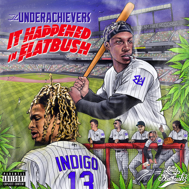Album cover for It Happened In Flatbush (Mixtape) by The Underachievers