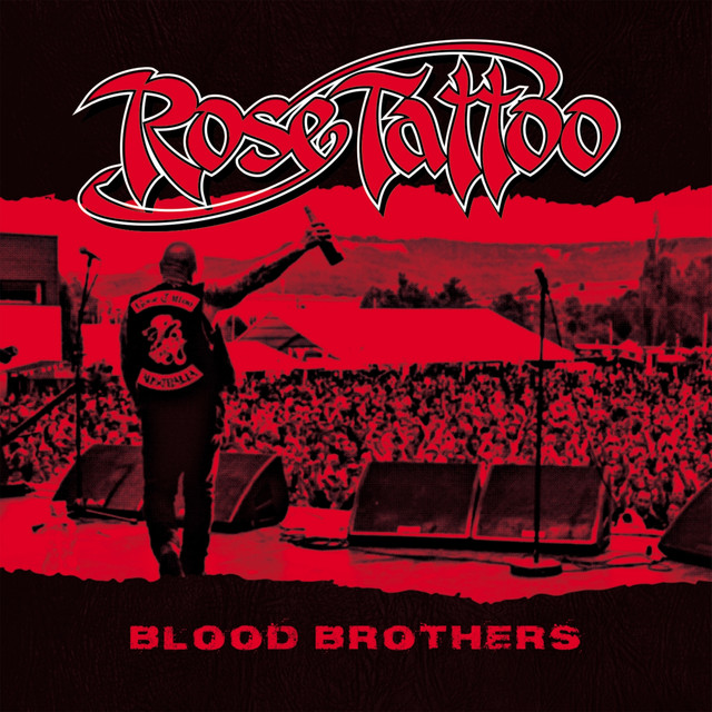 Album cover for Blood Brothers (2018 Bonus Reissue) by Rose Tattoo