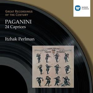 Paganini: 24 Caprices Albumcover