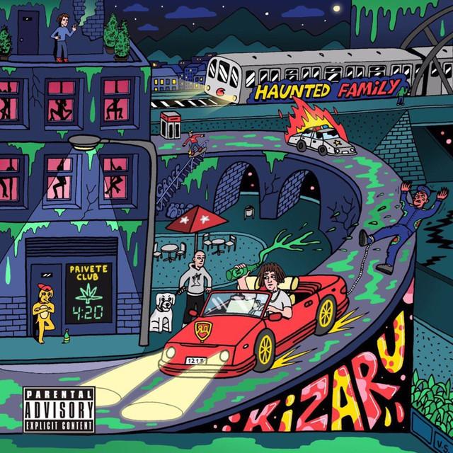 Album cover for Яд by Kizaru