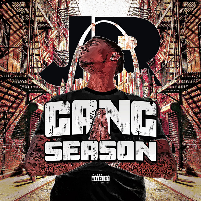 Album cover for Gang Season - EP by J.R.