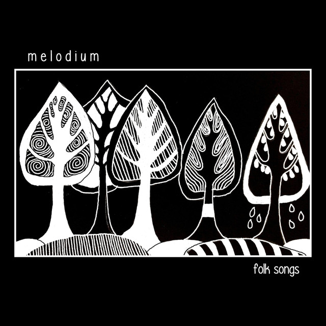 Album cover for Folk Songs by Melodium