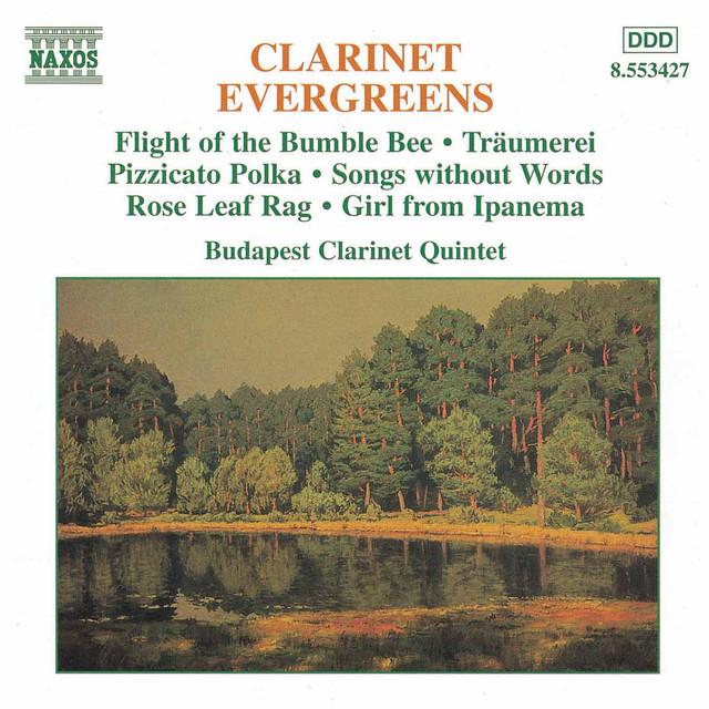 Clarinet Evergreens Albumcover