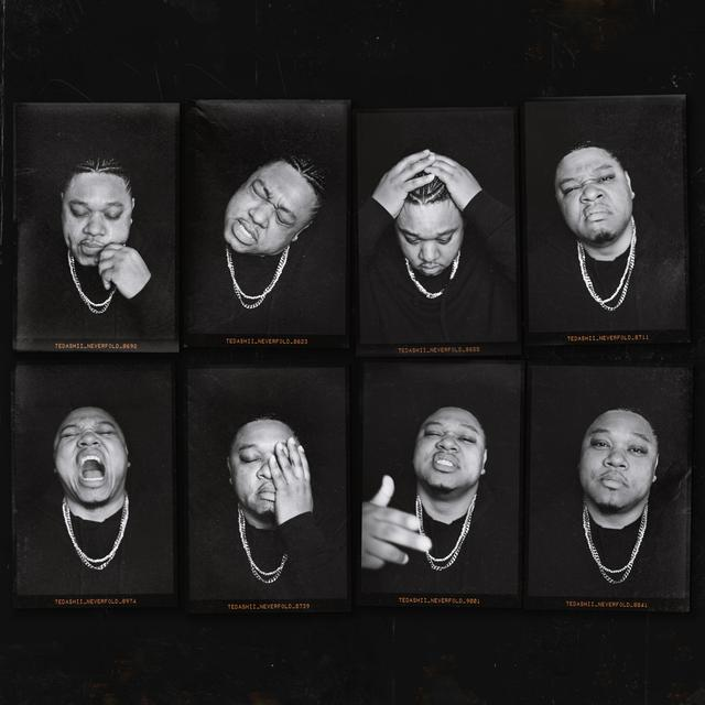 Album cover for Never Fold by Tedashii