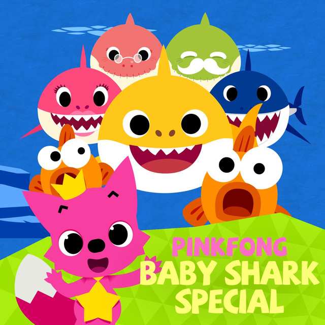 Album cover for Baby Shark Special by Pinkfong