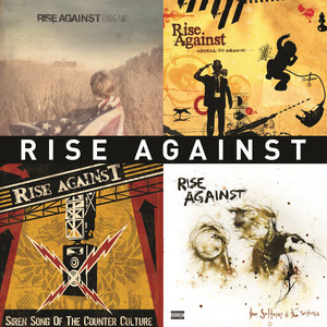 Rise Against Life Less Frightening cover