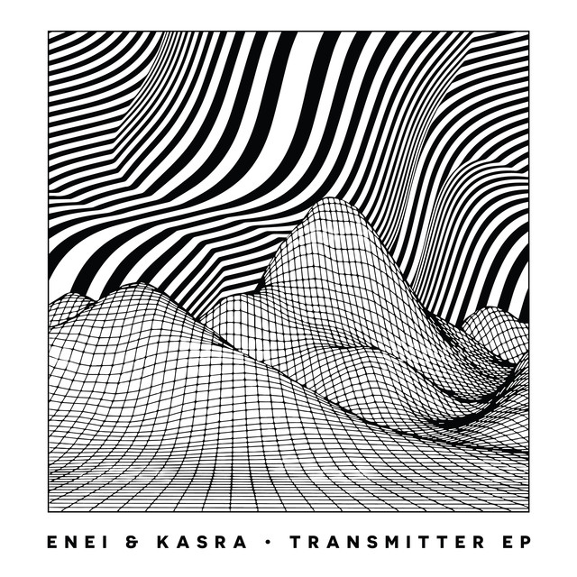 Album cover for Transmitter EP by Enei, Kasra