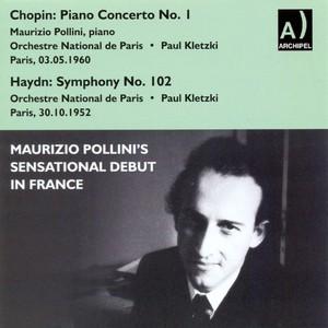 Mauricio Pollini's Sensational Debut in France (Paris, 30 oct 1952) Albumcover