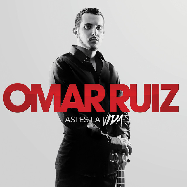 Album cover for Asi Es la Vida by Omar Ruiz