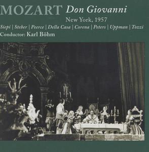 Mozart: Don Giovanni Albumcover