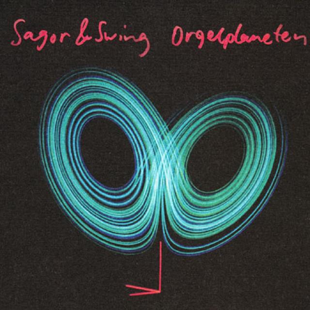 Skivomslag för Sagor & Swing: Orgelplaneten